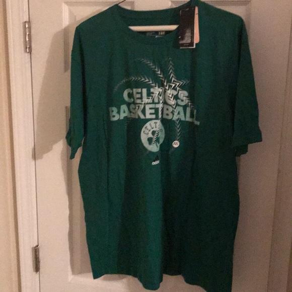 boston celtics t shirt adidas
